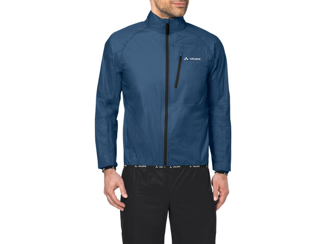 vaude drop iii jacket men fjord blue online kaufen. Black Bedroom Furniture Sets. Home Design Ideas